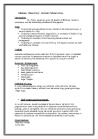 Substance Misuse Policy